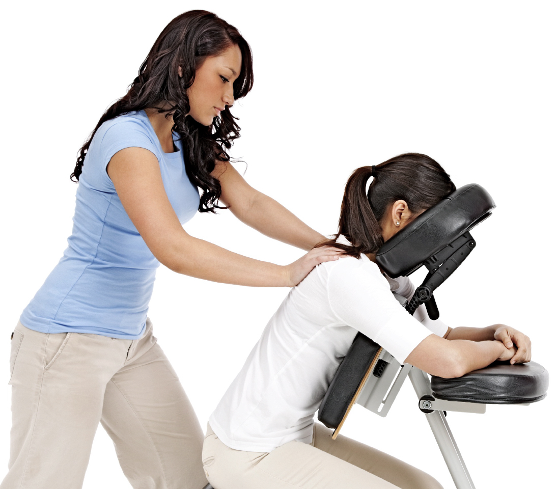Chair massage therapy - Chair Massage